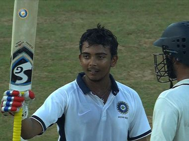 Prithvi Shaw left out of India's U-19 Asia Cup squad to enable him to play in ongoing Ranji Trophy
