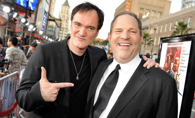 Quentin Tarantino worked with Harvey Weinstein on all of his films, including Reservoir Dogs. AFP