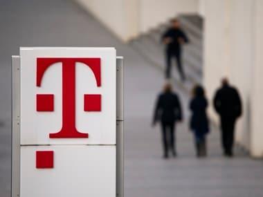 Logo of Deutsche Telekom AG seen. Reuters