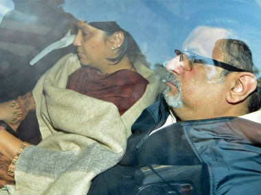 File image of Aarushi's parents, Nupur and Rajesh Talwar. Reuters