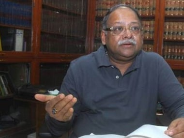 File image of former Solicitor-General Ranjit Kumar. Twitter: @DailyExcelsior1