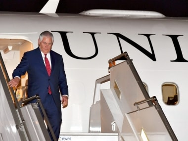 Rex Tillerson in India highlights: Sushma Swaraj names and shames Pakistan; raises H1B issue with Trump administration