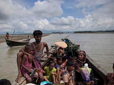 Rohingya Muslims fleeing from Myanmar. AP
