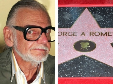 Night of the Living Dead director George Romero posthumously honoured with Hollywood Walk of Fame star