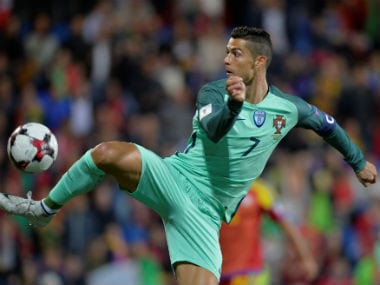 Portugal's Cristiano Ronaldo came off the bench to score against Andorra. Reuters