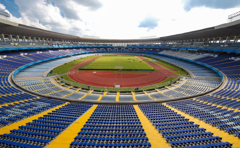 Vivekanand Yuba Bharati Krinangan popularly known as the Salt Lake stadium gears up to host the marquee England-mexico clash. GettyImages