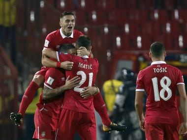 FIFA World Cup 2018 qualifiers: Serbia clinch Russia spot, Ireland's James McClean breaks Welsh hearts