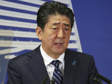 File image of Japan Prime Minister Shinzo Abe. AP