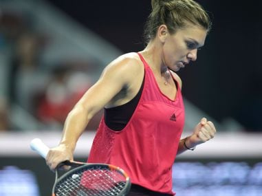 Simona Halep of Romania. Reuters