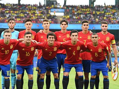 Image of Spain U-17 Football Team. Getty Images
