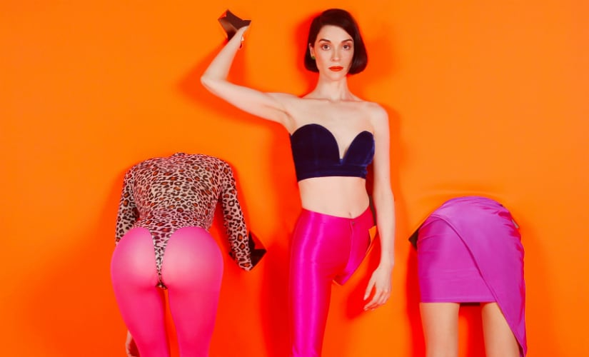 St. Vincent released her fifth album, MASSEDUCTION on Friday the 13th. Twitter/@st_vincent