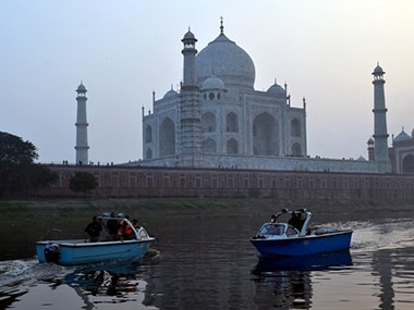 File image of UNESCO world heritage, The Taj Mahal. AFP