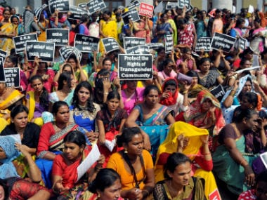File photo of transgenders in India. Reuters