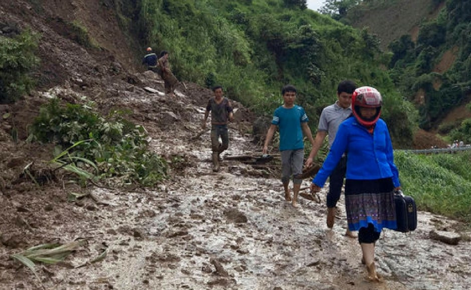 The disaster agency forecasts more rains in some parts of northern and central region as a cold spell is moving from southern China to Vietnam. AP
