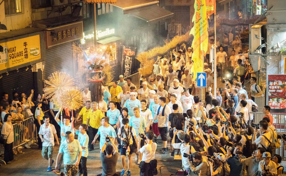 With grand cultural shows, exhibitions, parades and lantern display exhibits, Hong Kong kick started its celebrations for the Mid-Autumn Festival on 3 October. AP