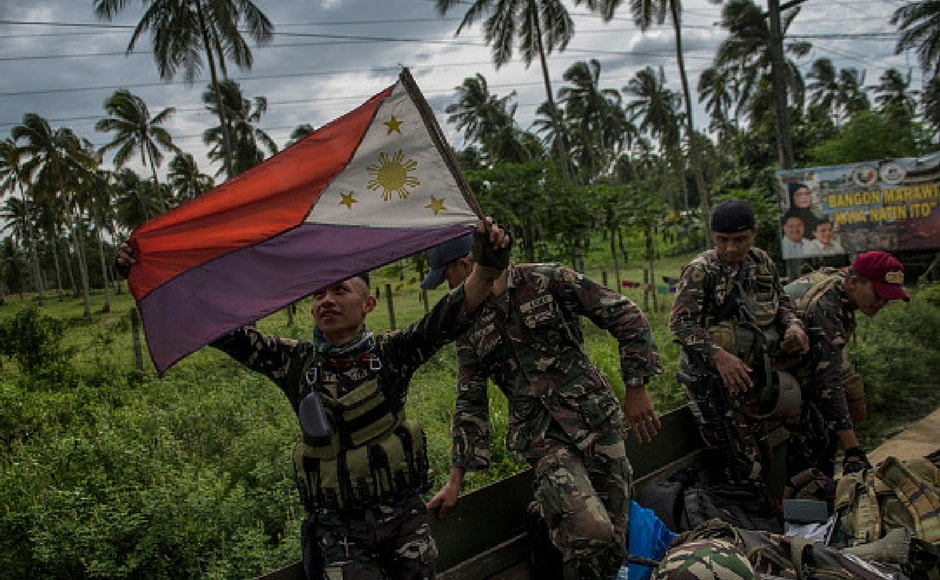 A five-month battle against Islamic State supporters in the southern Philippines that claimed more than 1,000 lives has ended on Monday. Getty Images