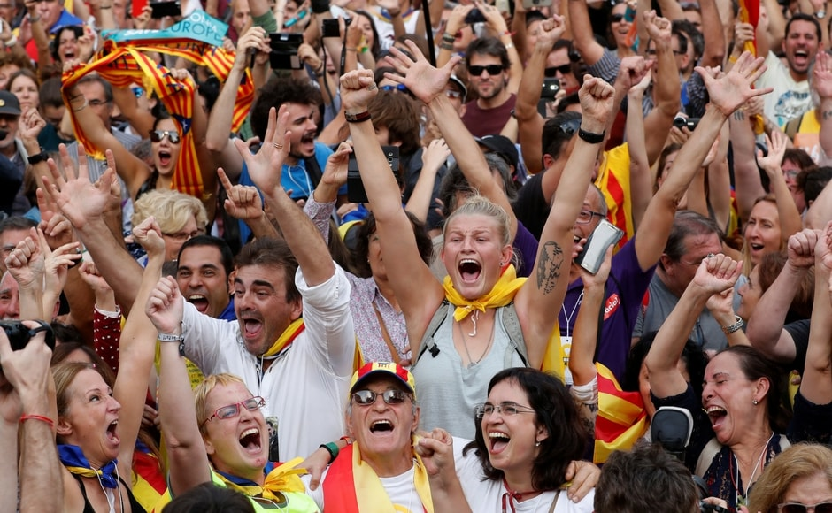 Hours after Catalonia's secession move, the Spanish senate granted the government special constitutional powers to stop the wealthy region's move to independence. Reuters