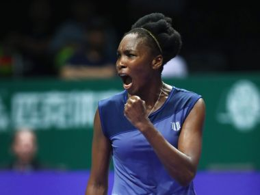 Venus Williams survived a 193-minute epic against Jelena Ostapenko. Twitter/@WTA