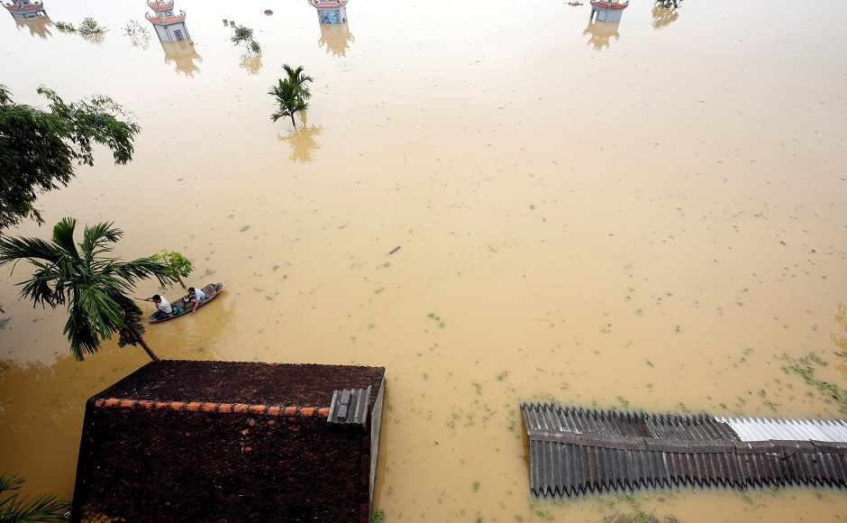 Vietnam floods and landslides leave 43 dead, thousands evacuated