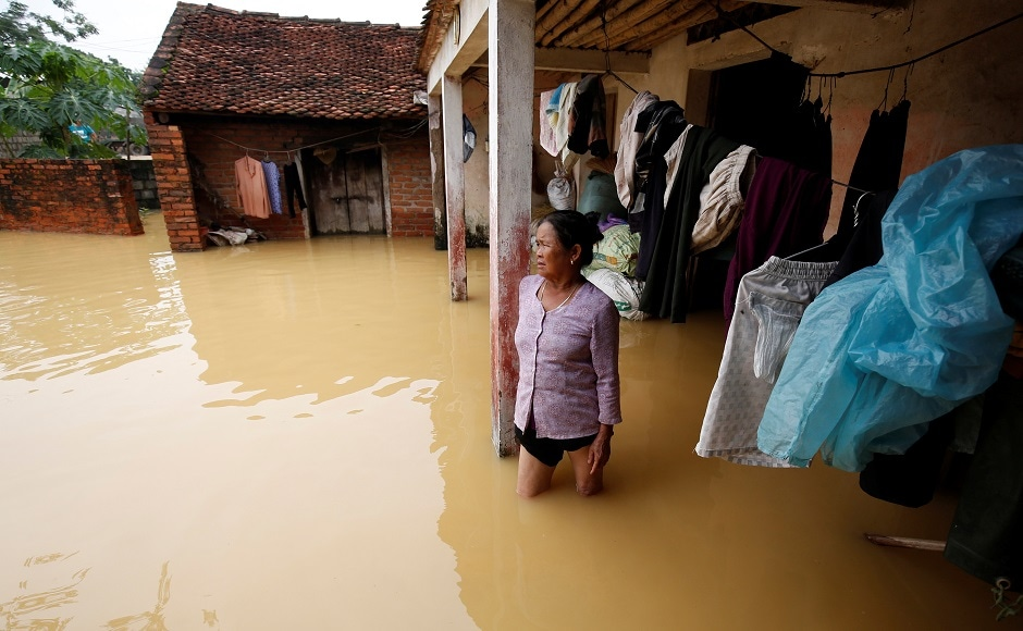 Over 2,00,000 people in Ninh Binh province have been asked to evacuate their homes following the flood and landslide. Reuters