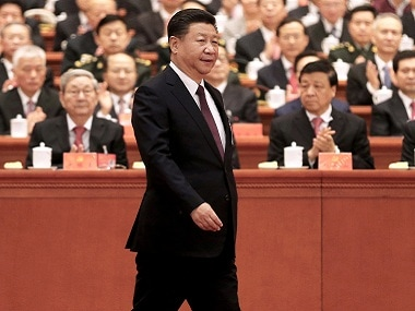 Xi Jinping at the 19th National Congress of the CPC. Reuters