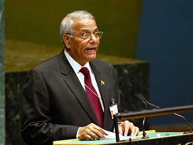 File image of former Union minister Yashwant Sinha. Getty images