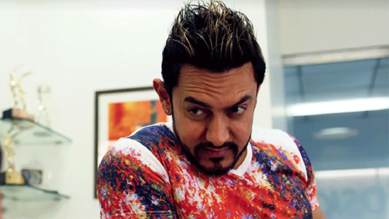 Aamir Khan in a still from Secret Superstar. YouTube