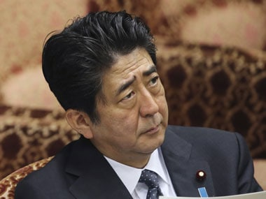 A file image of Japan prime minister Shinzo Abe. Reuters