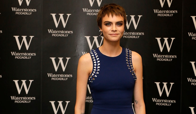 Model and actress Cara Delevingne recently came out as bisexual. AP Photo