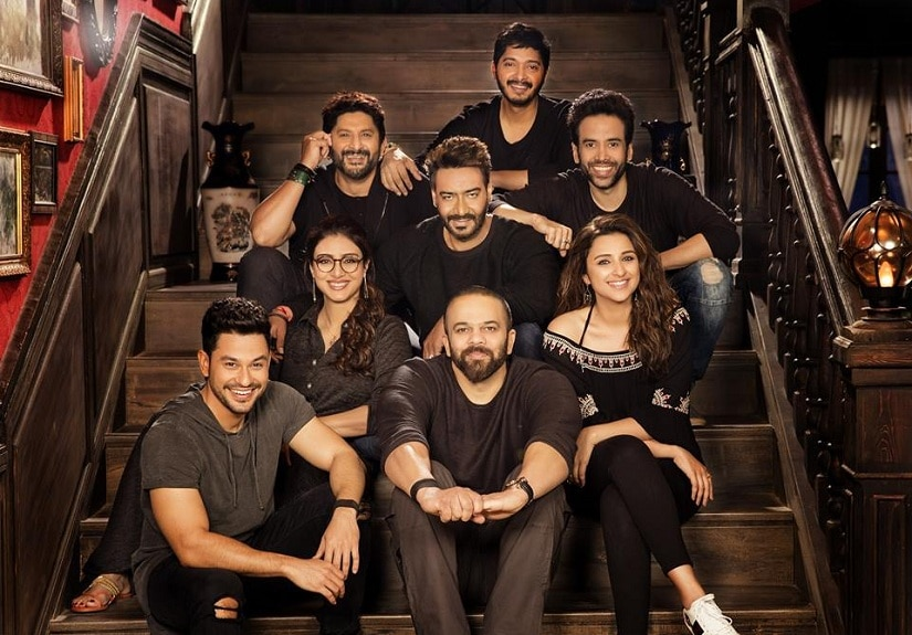 The cast of Golmaal Again. Image from Facebook/@GolmaalMovie
