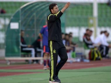 File photo of Spain U-17 coach Santi Denia. Getty Image