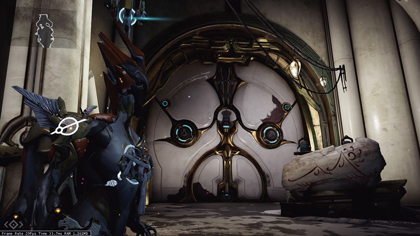 The door to the Plains of Eidolon