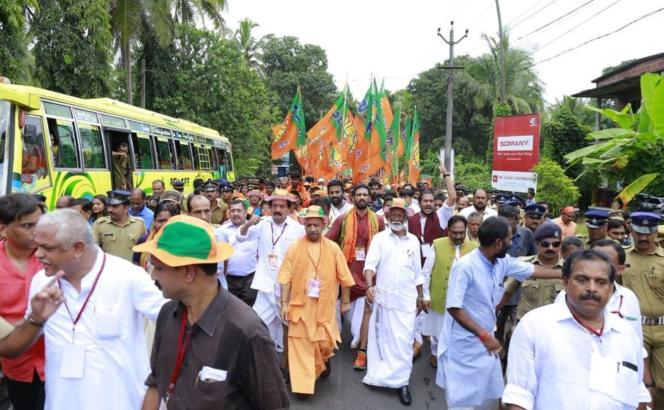 Kannur leg of BJP Janaraksha Yatra ends today