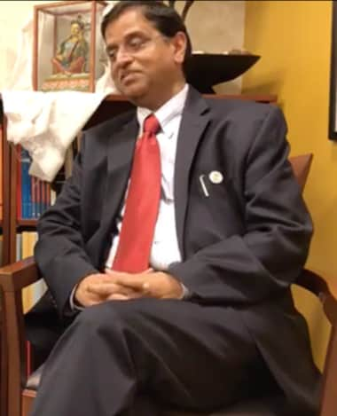 DEA Secretary Subhash Chandra Garg in Washington, D.C.