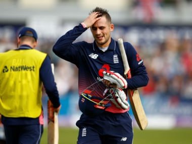 File photo of Alex Hales. Reuters