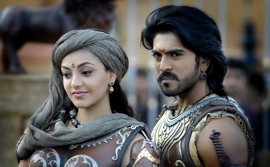 Then came Magadheera in 2009, which was a film about reincarnation starring Ram Charan and Kajal Aggarwal. Like Baahubali, it was a romantic drama involving warriors, and was made with a lavish budget of Rs 350 million. Image from Facebook/@SSRajamouli