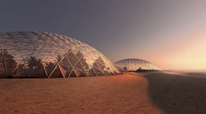 One of the planned experiments involves a team staying in the simulated environment for a year. Image: Dubai Government.