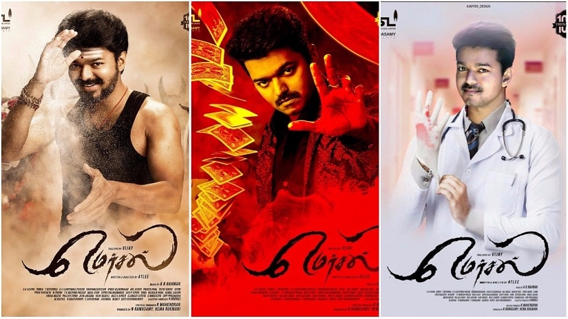 Vijay plays a triple role in Mersal. File image.