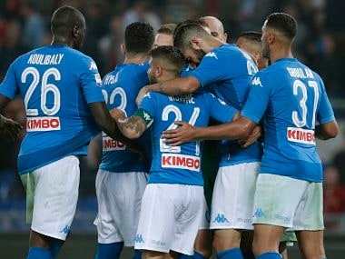 Napoli will look to bounce back against Inter Milan after their Manchester City loss in Champions League. AP