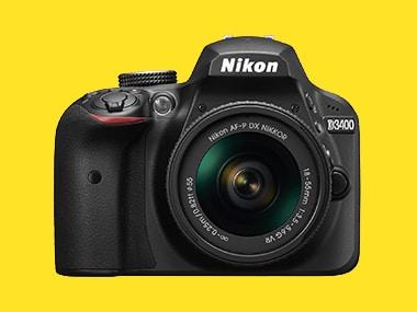 The Nikon D3400. Image: Nikon.