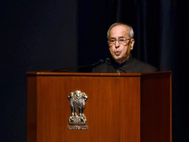 Former President Pranab Mukherjee emphasises on encouraging development of science and research