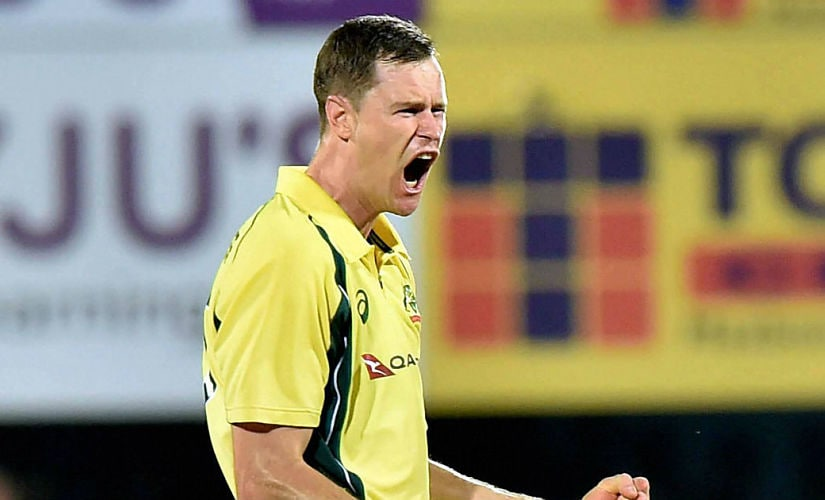 Jason Behrendorff was Australia's best player of the T20I series. PTI