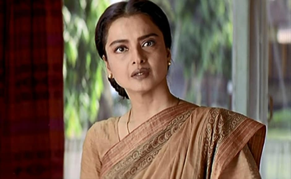 In her 60s, Rekha continues to act in films. She popularly featured as Hrithik Roshan's mother in Rakesh Roshan's 2003 sci-fi drama Koi Mil Gaya