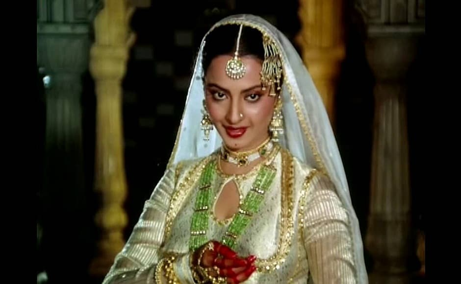 On her 63rd birthday, we look back at the most evergreen roles of the eternal diva Rekha. Arguably her most popular role till date is the titular character of Muzaffar Ali's 1981 historical drama Umrao Jaan.