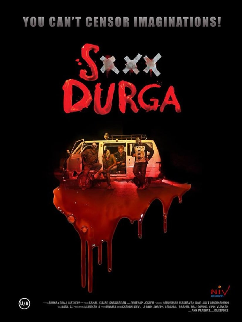 A poster for S Durga. Image from Facebook/@sexydurgamovie