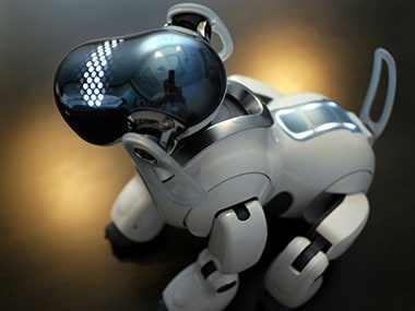 The Aibo. Image: Reuters.