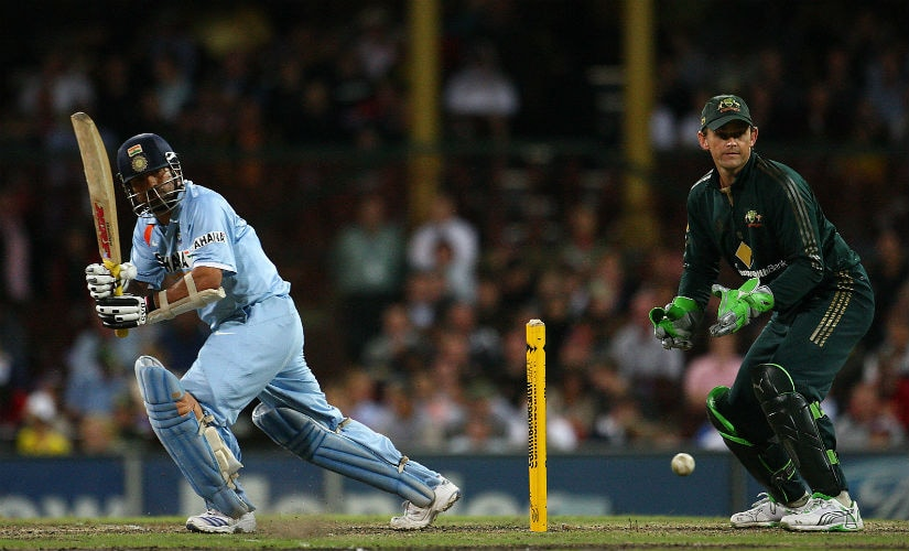 The charm of multilateral series: Sachin Tendulkar in action during his century against Australia during the 1st CB Series final in 2008. Getty Images