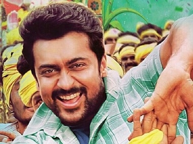 Suriya dubs in his own voice for Gang, the Telugu version of Thaana Serntha Kootam