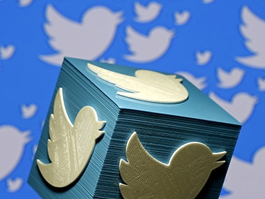 A 3D printed Twitter Logo. Image: Reuters