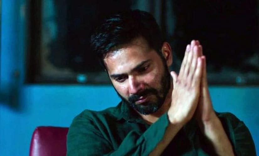 Varun Dhawan in a still from Badlapur. YouTube